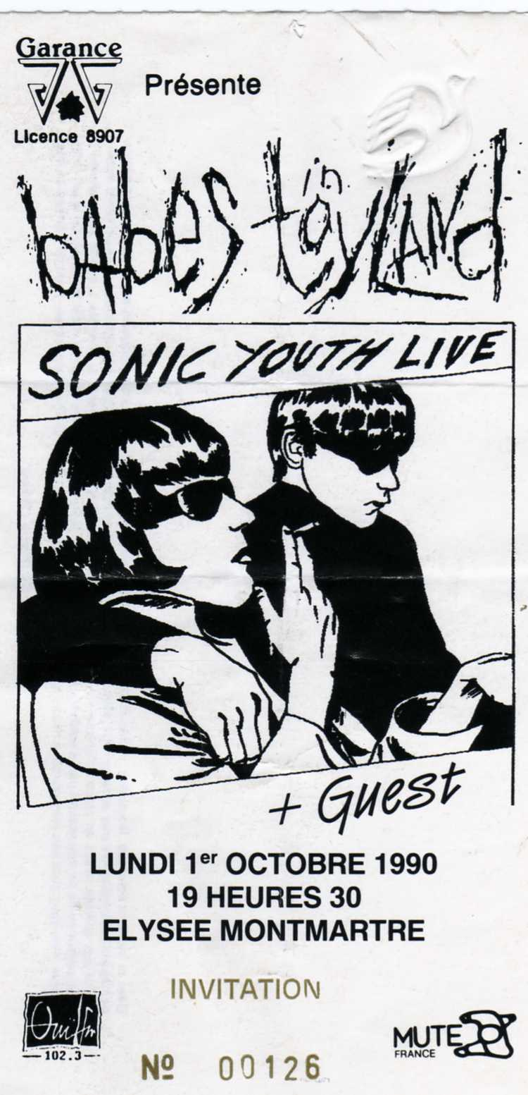 Sonic Youth Flower Halloween