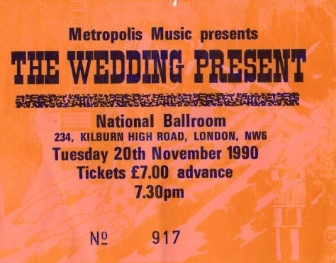 The Wedding Present 20 11 1990001