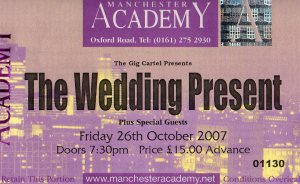 The Wedding Present 26 10 2007001