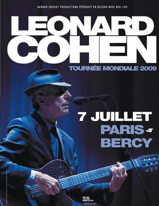 Leonard Cohen Bercy 2009