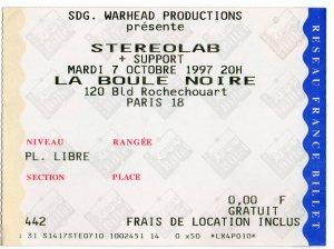 Stereolab 7 10 1997001