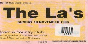 The La's 18 11 1990001