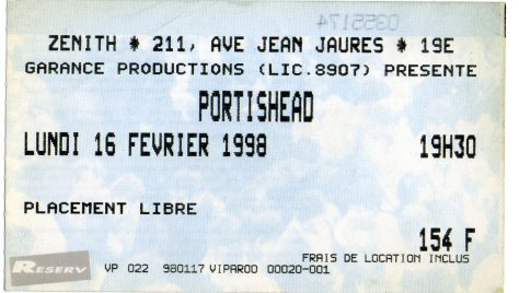 Portishead 16 2 1998001