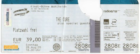 The Cure 28 8 2005001