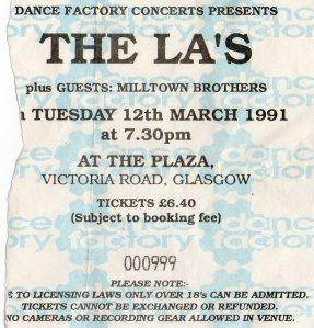 The La's 12 3 1991001