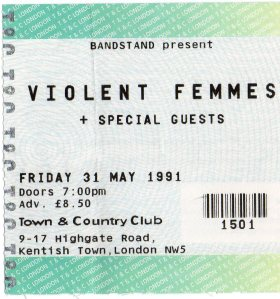 The Violent Femmes 31 5 1991001