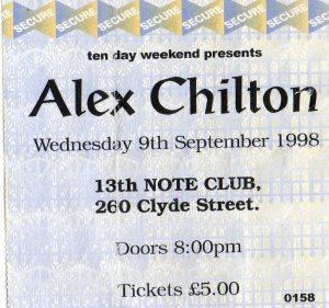 Alex Chilton 9 9 1998001