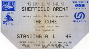 The Cure 13 12 1996001