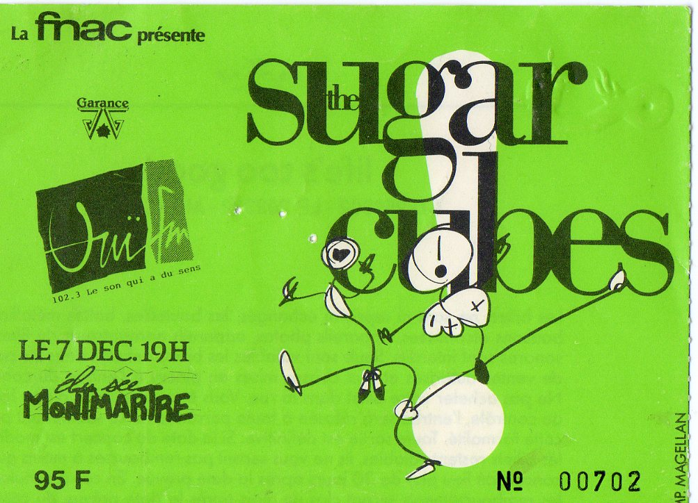 Sugarcubes, The - Tidal Wave