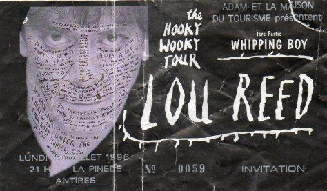 Lou Reed 15 7 1996