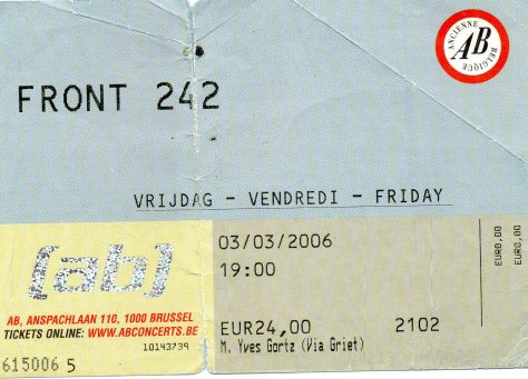 Front 242 3 3 2006
