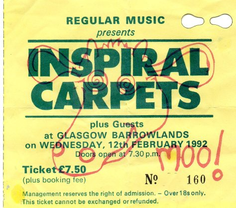 Inspiral Carpets 12 2 1992