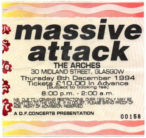 Massive Attack 8 12 1994