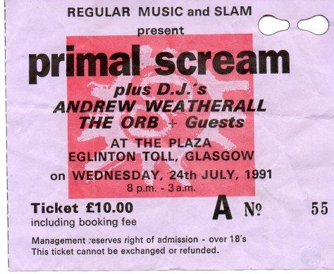 Primal Scream 24 7 1991
