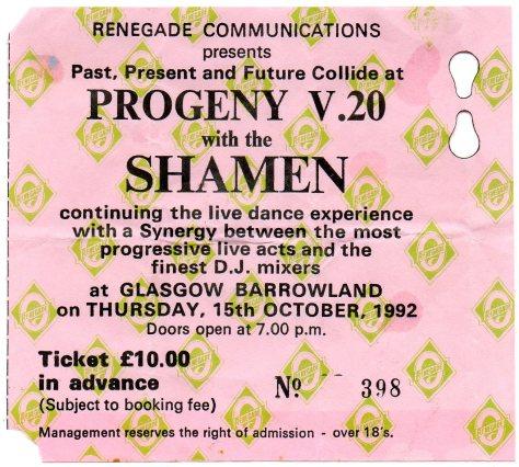 Shamen 15 10 1992