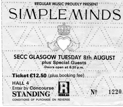 Simple Minds 8 8 1989
