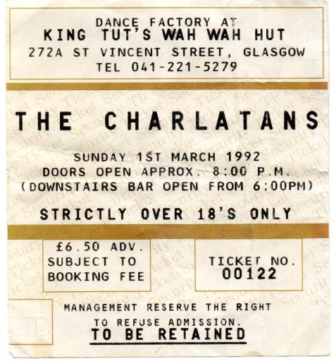 The Charlatans 1 3  1992