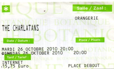 The Charlatans 26 10 2010