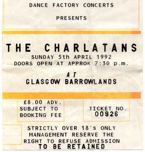 The Charlatans 5 4 1992