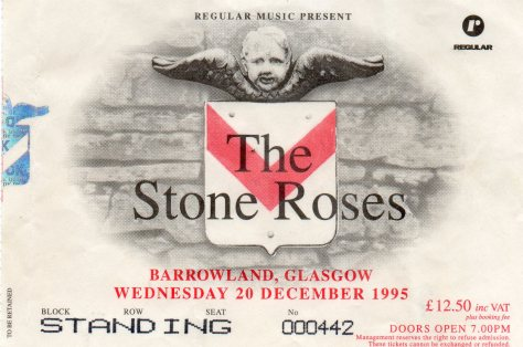The Stone Roses 20 12 1995