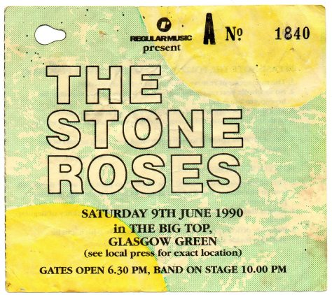 The Stone Roses 9 6 1990