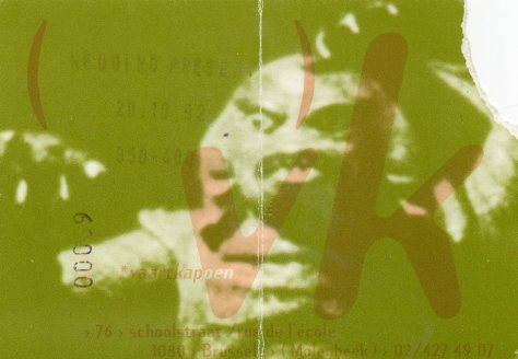 The Wedding Present 26 10 1992