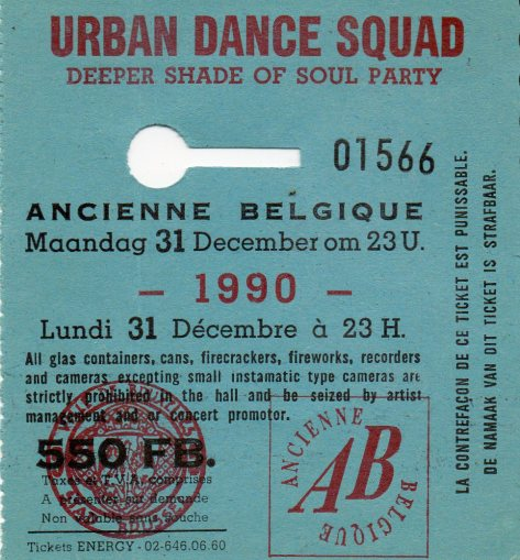 Urban Dance Squad 31 12 1990
