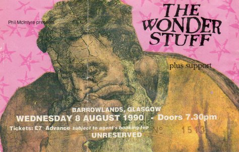 The Wonder Stuff 8 8 1990